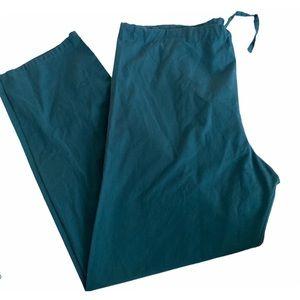 AMS Scrubs | Caribbean Green Scrub pants size M